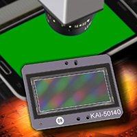 Датчик изображения ON Semiconductor KAI-50140 разрешением 50 Мп предназначен для систем контроля качества дисплеев смартфонов