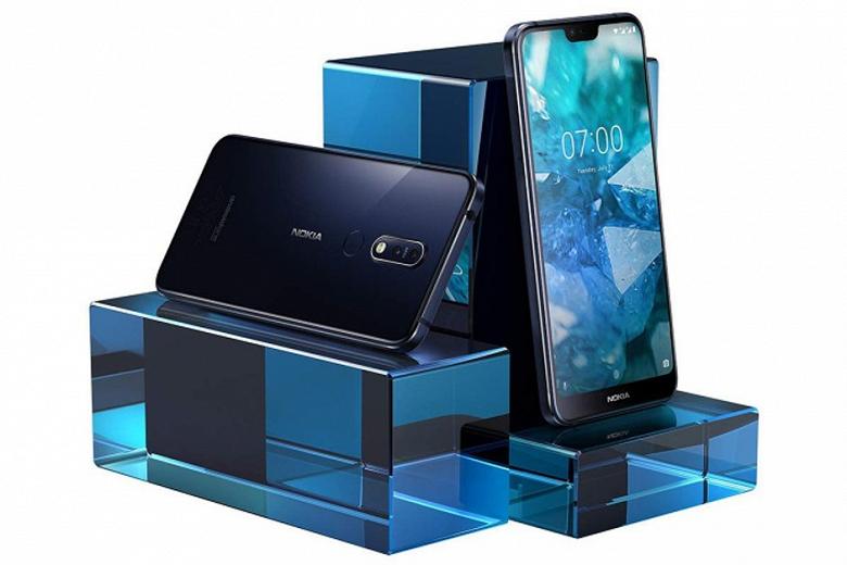 Смартфон Nokia 7.1 поступил в продажу