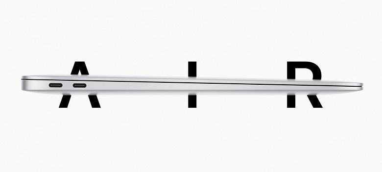 Представлен ноутбук Apple MacBook Air нового поколения