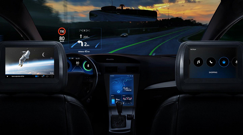 Samsung представила линейку процессоров Exynos Auto и датчиков изображения ISOCELL Auto для автомобилей