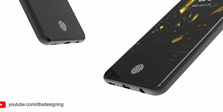 Так может выглядеть флагманский смартфон Samsung Galaxy S10