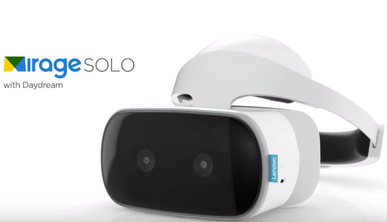 Компания Lenovo лицензировала у Sony дизайн гарнитуры виртуальной реальности