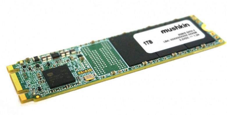 Объем накопителей Mushkin Source типоразмера M.2 достиг 1 ТБ