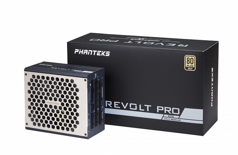 Блоки питания Phanteks Revolt Pro мощностью 850 Вт и 1000 Вт могут работать парами