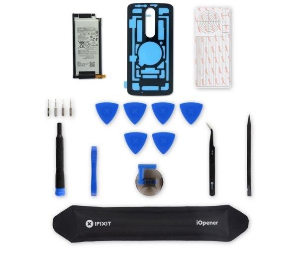 Motorola совместно с iFixit предлагает готовые наборы для замены аккумуляторов и экранов в смартфонах