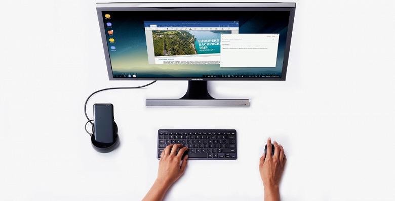 Samsung DeX Mode будет доступен без использования док-станции и кабелей, режим станет беспроводным