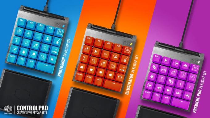Cooler Master собирает средства на выпуск ControlPad – первого в мире аналогового кейпада
