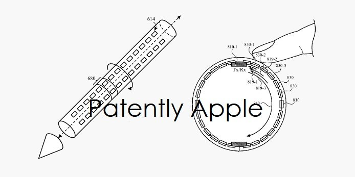 В Apple придумали добавить в перо ультразвуковые датчики