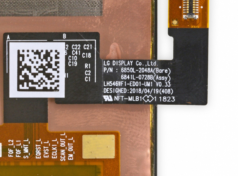 Экраны для смартфонов Google Pixel 3 поставляет LG Display