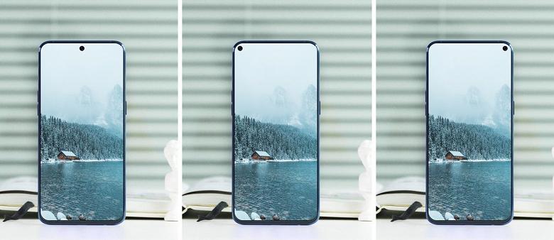 В следующем году в моду войдут смартфоны с дырявыми экранами