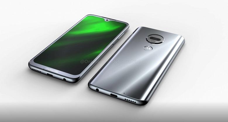 Видео дня: смартфон Motorola Moto G7 с каплевидным вырезом