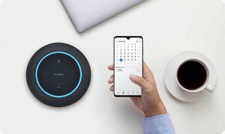 Умная колонка Huawei AI Speaker — когда проще скопировать Apple HomePod, чем придумывать оригинальный дизайн
