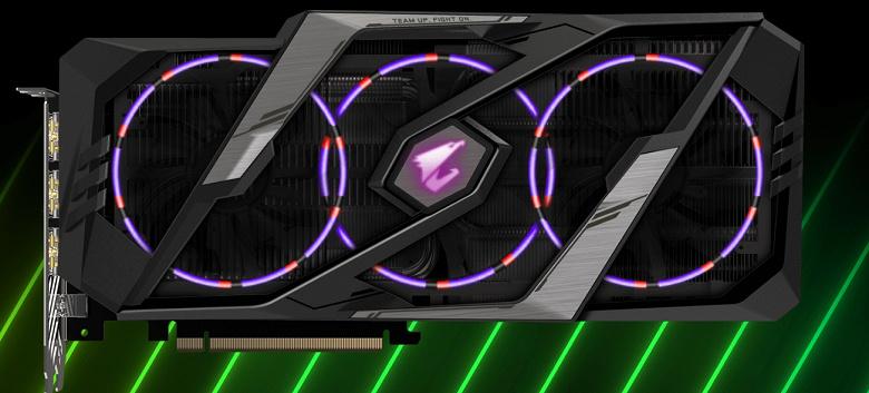Видеокарты Gigabyte Aorus GeForce RTX 2080 обеспечиваются четырёхлетней гарантией