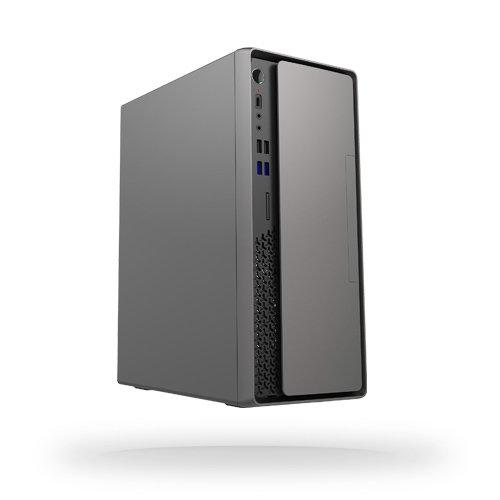 Компьютерный корпус Chieftec BS-10G рассчитан как на вертикальное, так и на горизонтальное размещение