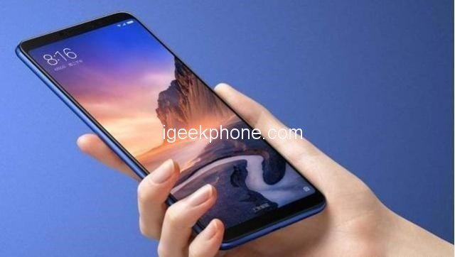 Огромный смартфон Xiaomi Mi Max 4 окажется дешевле, чем предполагалось