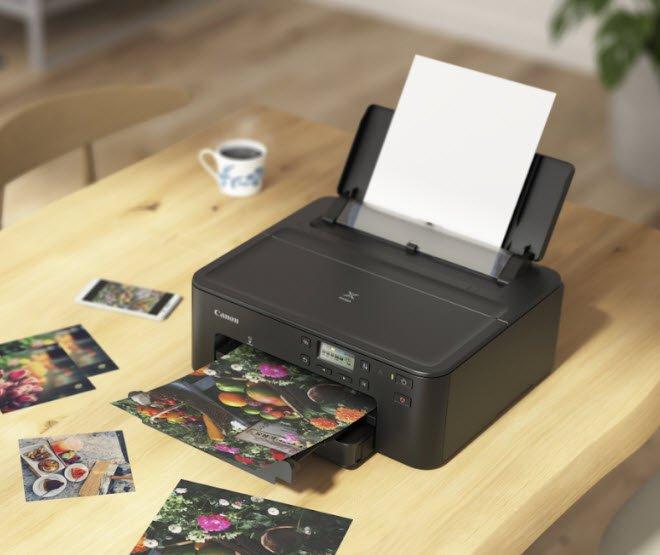 Представлен компактный принтер CanonPixmaTS704