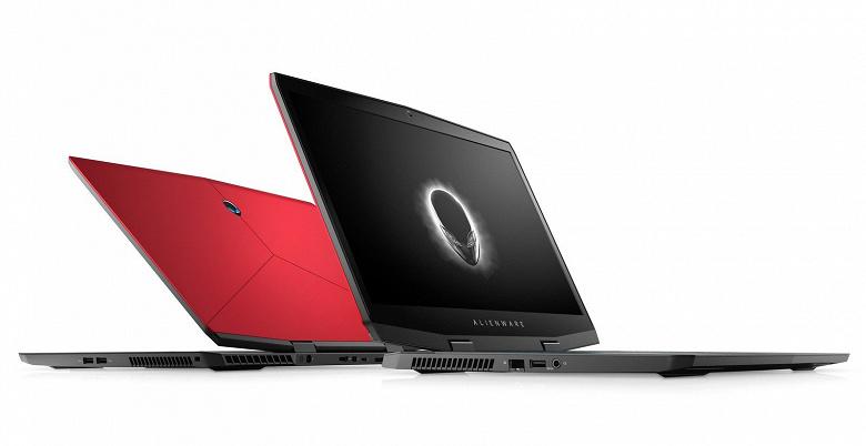 Новый игровой ноутбук Dell Alienware m17 стал тоньше, легче, получил видеокарты Nvidia RTX, но не получил экранов с высокой кадровой частотой