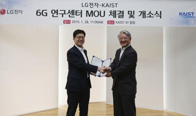 Пока Huawei готовится к началу эпохи 5G, компания LG уже работает над 6G