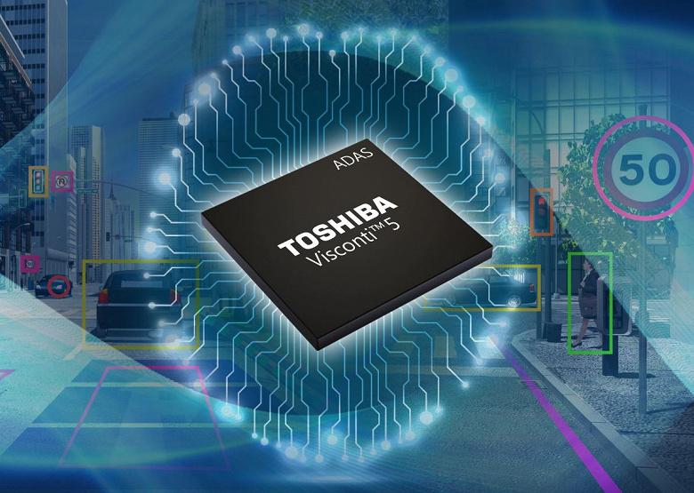 Процессор Toshiba Visconti 5 получит IP-ядро DNN