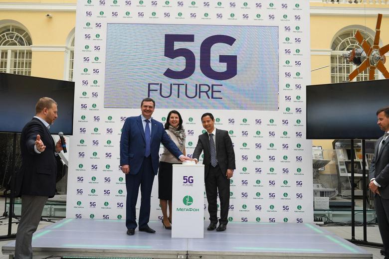 Первые пилотные сети 5G запустят в России к концу года