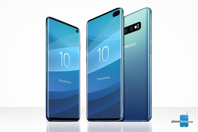 Характеристики, цвета и сроки выпуска смартфонов Galaxy S10 подтверждены представителем Samsung