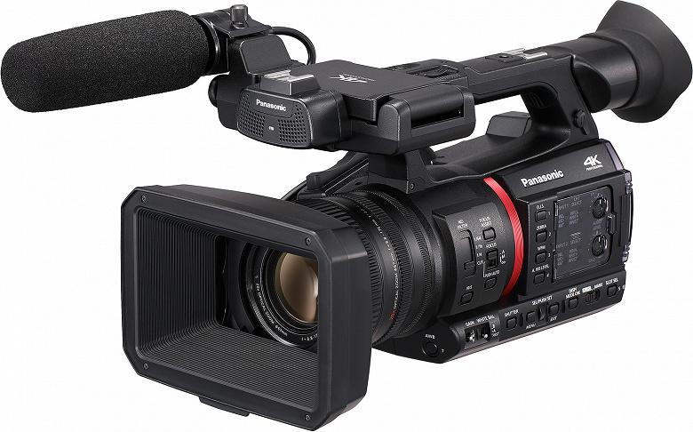 Видеокамера Panasonic AG-CX350 позволяет снимать видео 4K с 10-битным представлением цвета и частотой 60 к/с