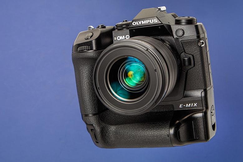 В Olympus считают камеру OM-D E-M1X шагом вверх по сравнению с камерами формата APS-C