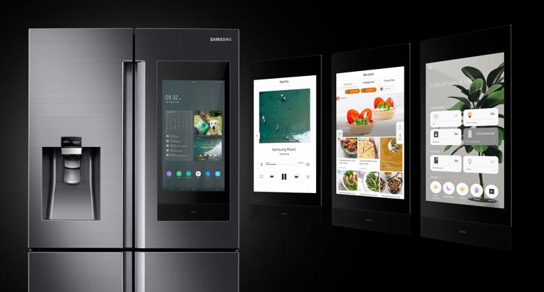Новый умный холодильник Samsung Family Hub позвонит на смартфон, если дверца осталась открытой