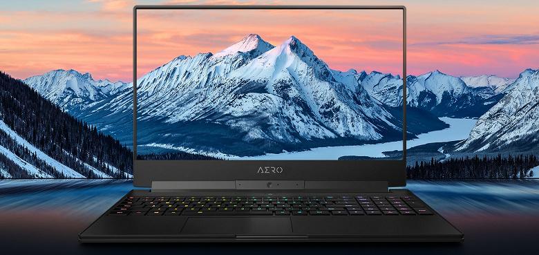 Gigabyte Aero 15 — первый игровой ноутбук с системой искусственного интеллекта