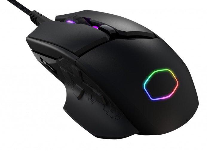 Начались продажи MM830 — первой мыши Cooler Master для MMO-игр