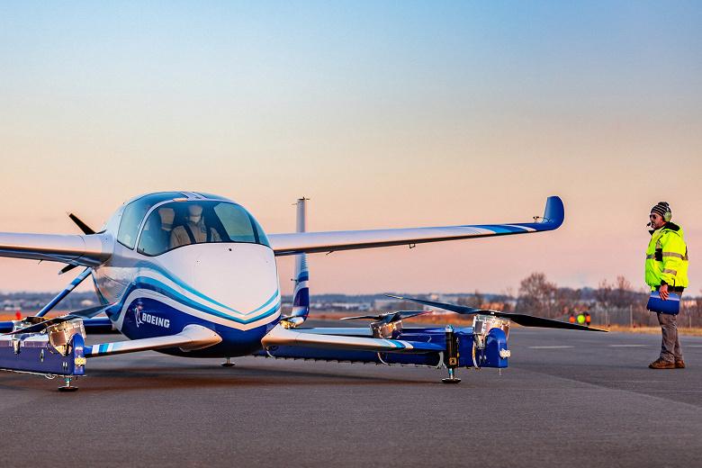 Беспилотное аэротакси Boeing совершило первый полёт