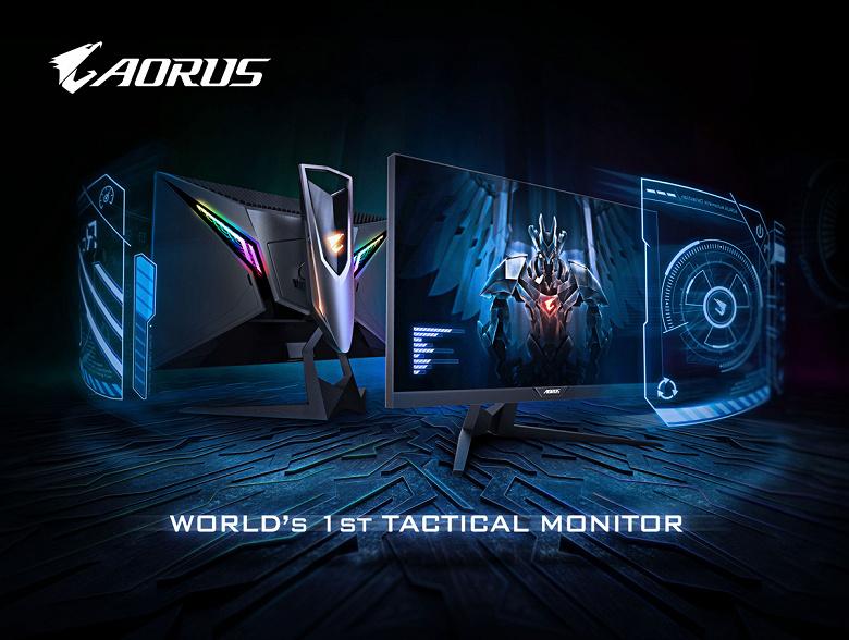 Gigabyte называет Aorus AD27QD «первым в мире тактическим монитором»
