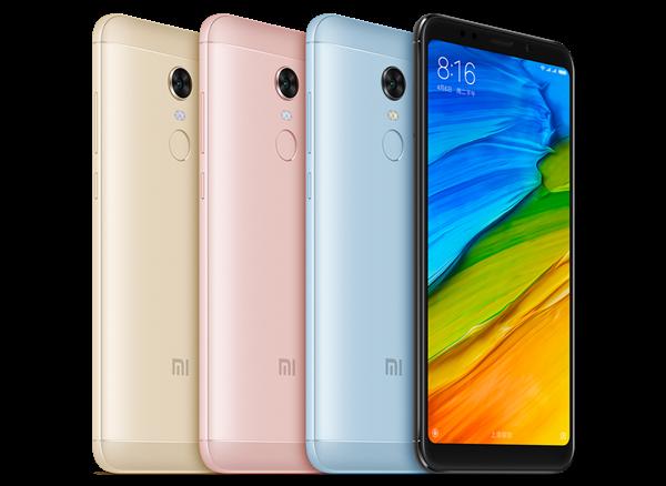 Смартфон Xiaomi Redmi 5 получил стабильную версию MIUI 10.2.3