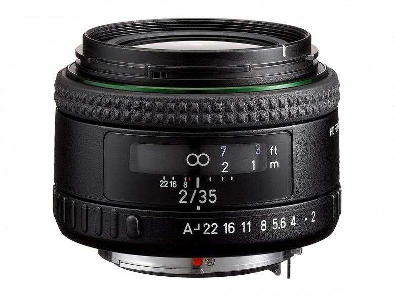 Представлен объектив HD Pentax-FA35mmF2