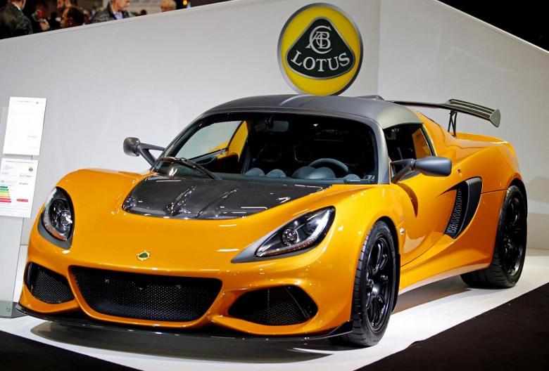 Производство автомобилей Lotus переносится в Китай