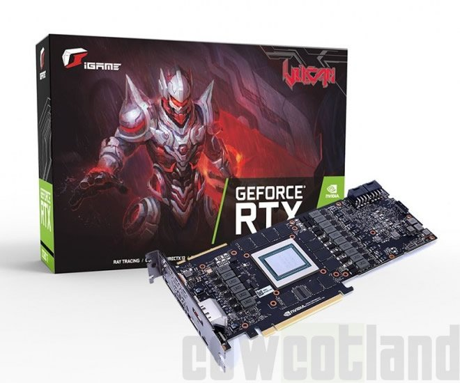 Colorful выпускает 3D-карту GeForce RTX 2080 без системы охлаждения