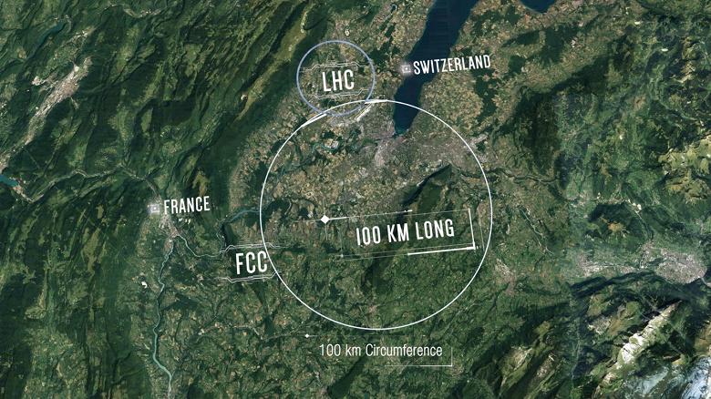 Ещё один «уничтожитель Земли». ЦЕРН представил концепт огромного коллайдера протяжённостью 100 км
