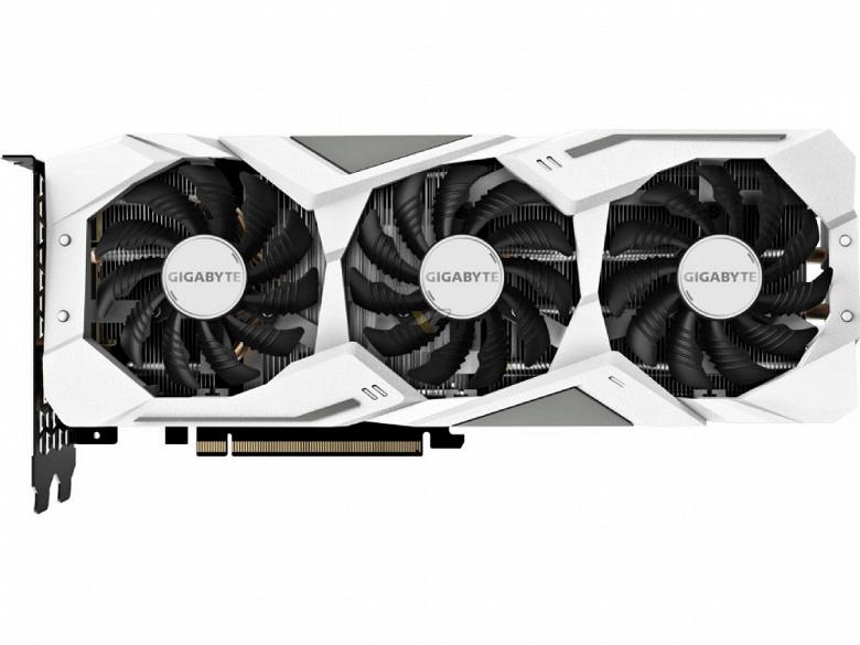 Gigabyte готовит видеокарту GeForce RTX 2060 в необычном цветовом исполнении