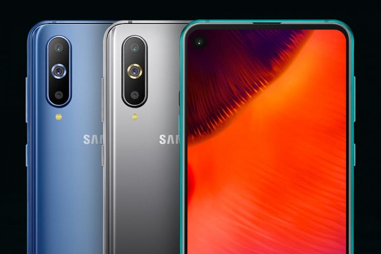 Смартфон Samsung Galaxy A60 с отверстием в экране ожидается в апреле