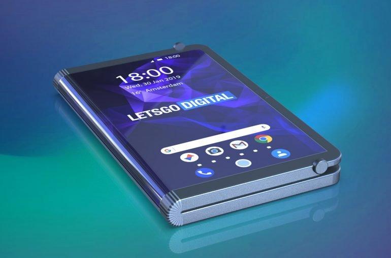 Галерея дня: складывающийся втрое игровой смартфон Samsung