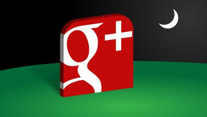 В социальной сети Google скоро начнут закрывать учётные записи пользователей
