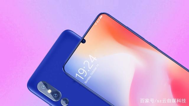 Флагманский смартфон Xiaomi Mi 9 позирует на новых изображениях: каплевидный вырез экрана, очень тонкие рамки и тройная камера