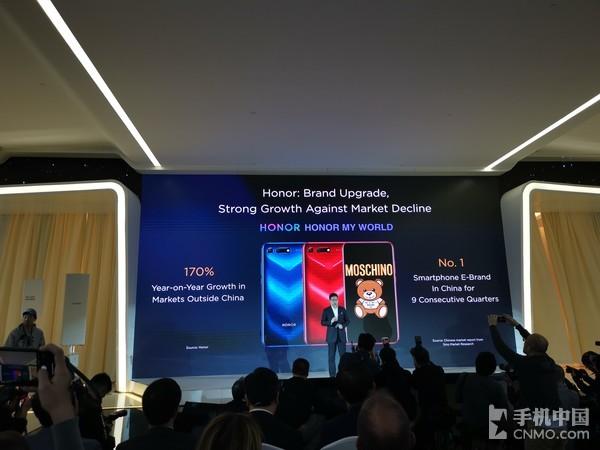 Продажи смартфонов Honor за год взлетели на 170%