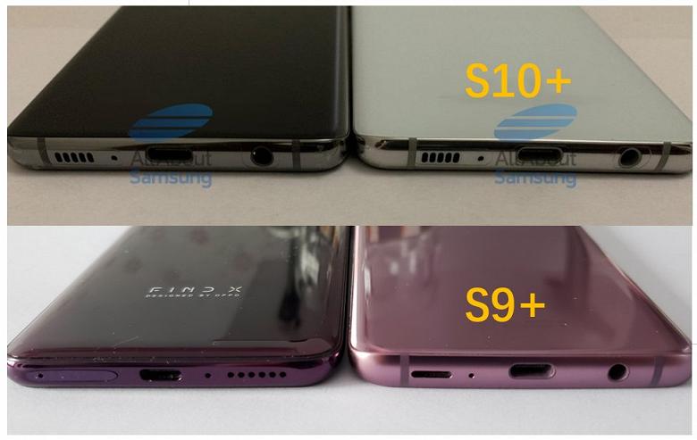 Смартфон Samsung Galaxy S10+ оказался тоньше, чем Galaxy S9+, но при этом он получил более емкий аккумулятор