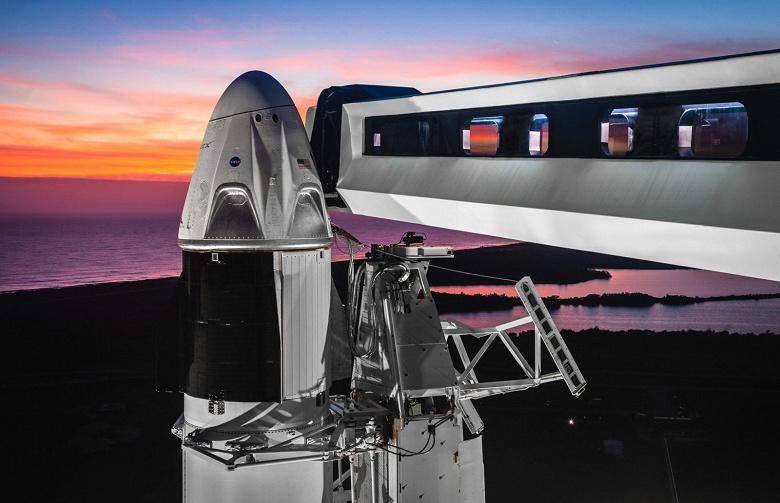 Космический корабль SpaceX Crew Dragon впервые отправится к МКС в начале марта