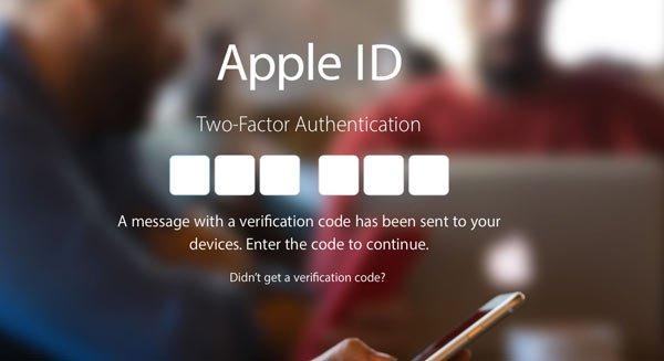 На Apple подана жалоба, связанная с двухфакторной аутентификацией