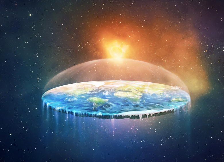 В распространении веры в плоскую Землю виноват... YouTube