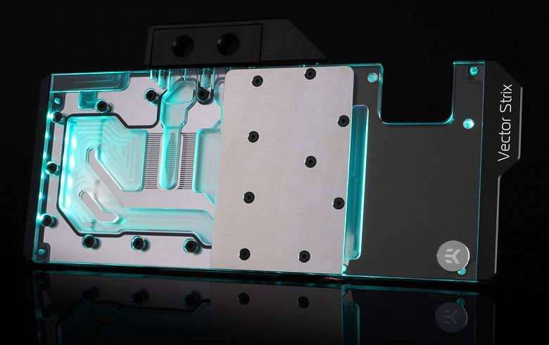 EK выпускает водоблоки Vector RTX для 3D-карт серии Asus ROG Strix