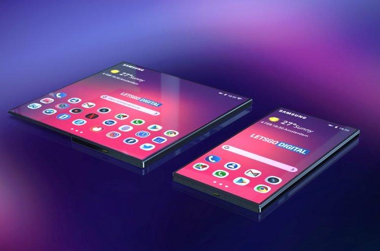 Галерея дня: складной смартфон Samsung Galaxy F на качественных изображениях
