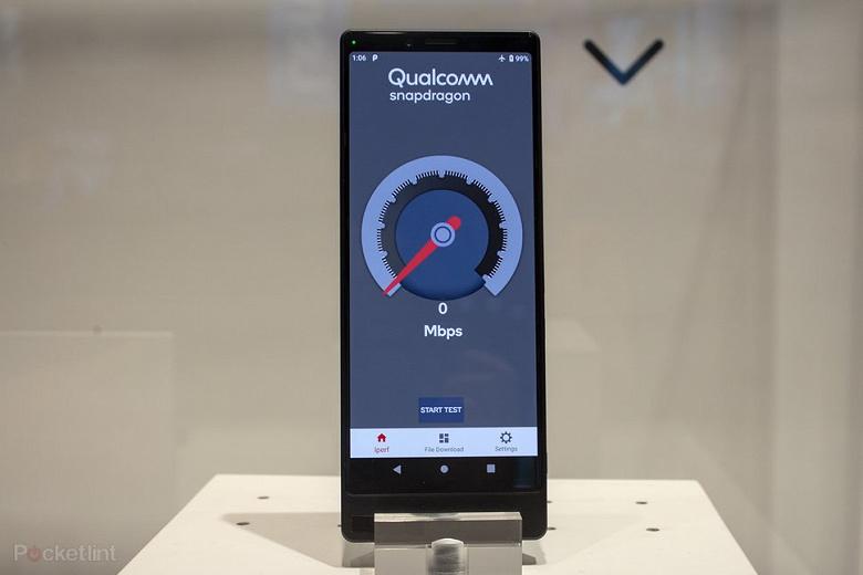 Sony показала прототип смартфона с поддержкой сетей 5G